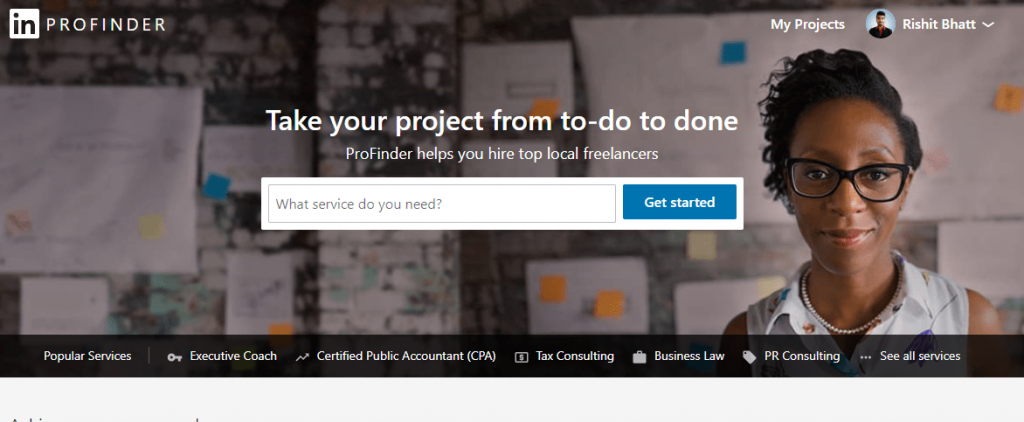 LinkedIn Profinder to find remote jobs